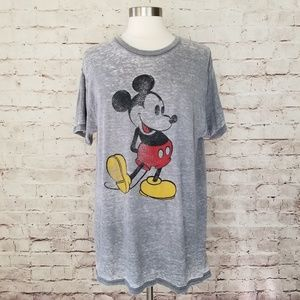 Worn-In Disney Mickey Mouse Graphic T-Shirt